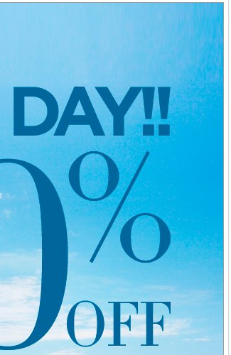 Ends Today: EVERYTHING 50% OFF! Shop Now!