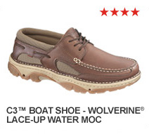 C3 Boat Shoe - Wolverine Lace-up Water Moc