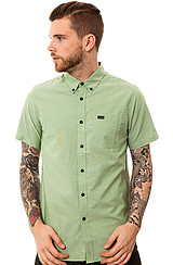 The That'll Do SS Buttondown Shirt in Cactus