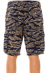 The Tiger Camo Shorts in Charcoal