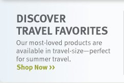 discover travel favorites. shop now.