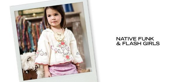 NATIVE FUNK & FLASH GIRLS, Event Ends June 21, 9:00 AM PT >