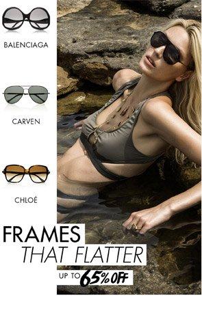 Frames that flatter