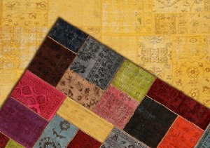 New Markdowns: Vintage Patchwork Rugs