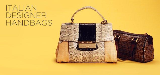 Italian Designer Handbags: Bottega Veneta, Fendi, Prada & More