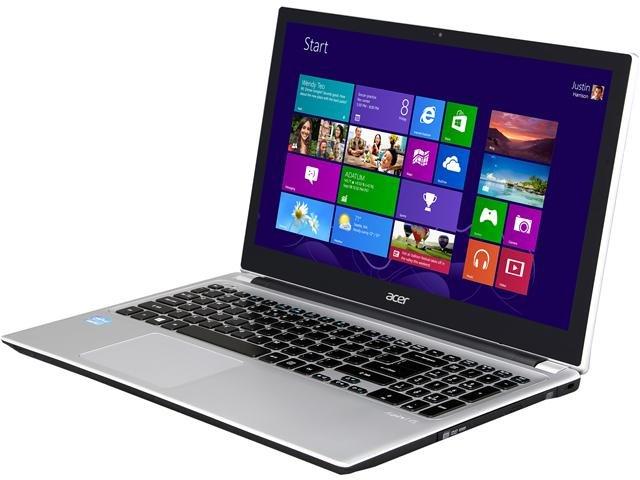 Acer Aspire V5-571P-6831 Notebook Intel Core i5 3337U(1.80GHz) 15.6 inch 6GB Memory 750GB HDD 5400rpm DVD±R/RW Intel HD Graphics 4000