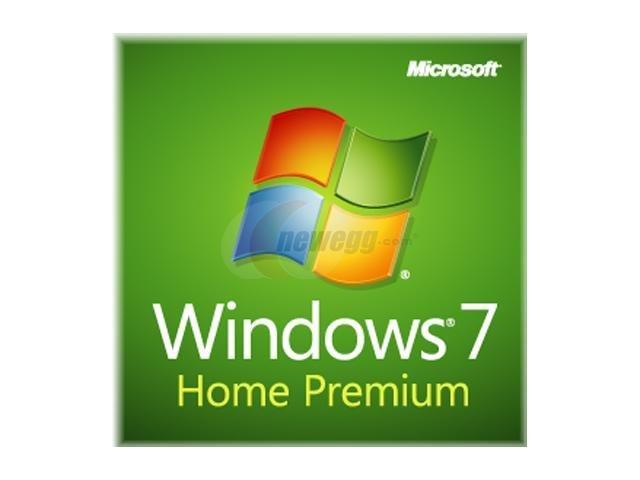 Microsoft Windows 7 Home Premium SP1 32-bit - OEM