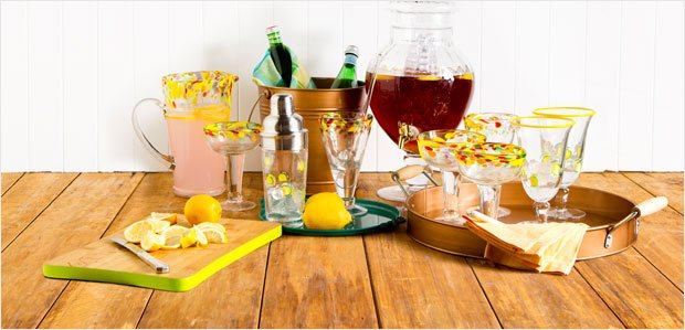 Shake (and Stir) It Up: The Patio Cocktail Party