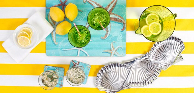 Put Summer on the Table: Festive Dishes & Linens