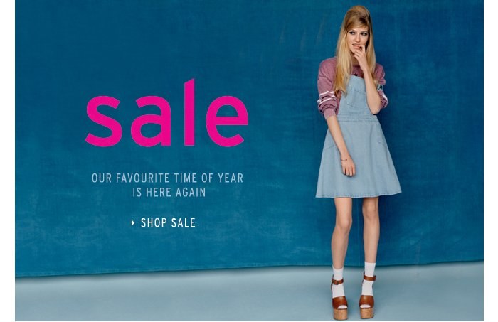 Sale, our favourite time of year is here again - Shop Sale