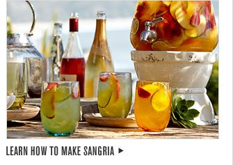 LEARN HOW TO MAKE SANGRIA