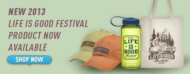 Buy Official Life is good Festival Product