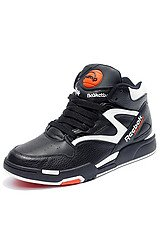 The D.Brown Pump Omni Lite OG Sneaker in Black, White, & Varsity Orange