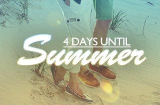 4 Days Until Summer