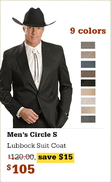 Circle S Men's Lubbock Suit Coat