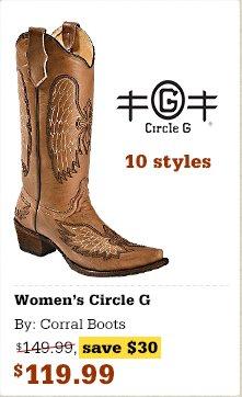 Circle G Ladies Boots