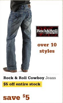Rock and Roll Cowboy Jeans