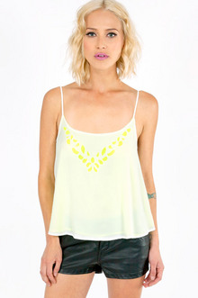 DOUBLE CALL CUTOUT CAMI 30