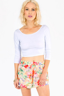 MY LITTLE PEONY SHORTS 22