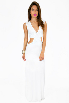 JUSTINE SIDE SLIT MAXI DRESS 39