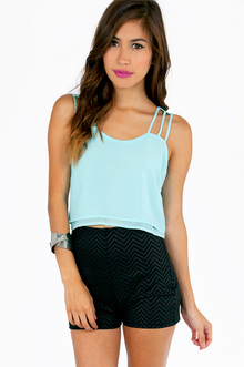 STRINGS FOR STRAPS CROP TOP 28