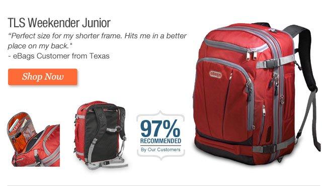 TLS Weekender Junior. Shop Now