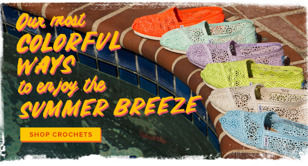 Our most colorful ways to enjoy the summer breeze - Shop Crochets