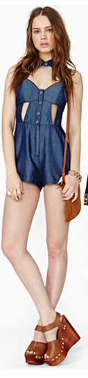 Rebel In Disguise Romper