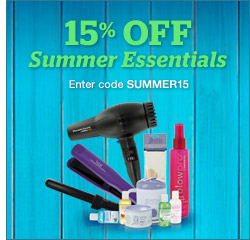 15% Off Summer Essentials