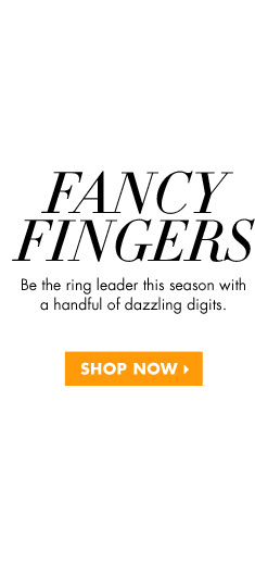BLING RINGS - FROST YOUR FINGERS WITH THESE SPARKLY STATEMENTS