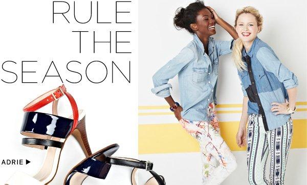 Rule the Season. Shop Adrie