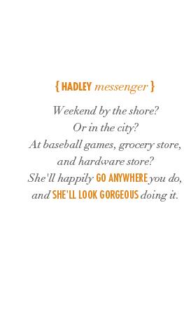 Hadley Messenger