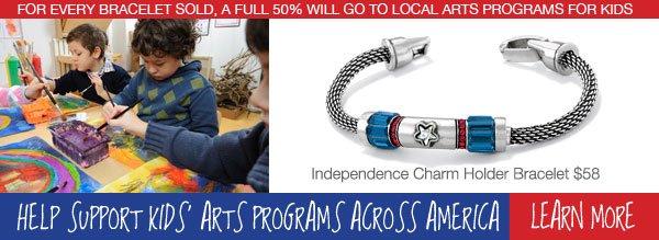 Help Support Kids' Art Programs Across America - Learn More