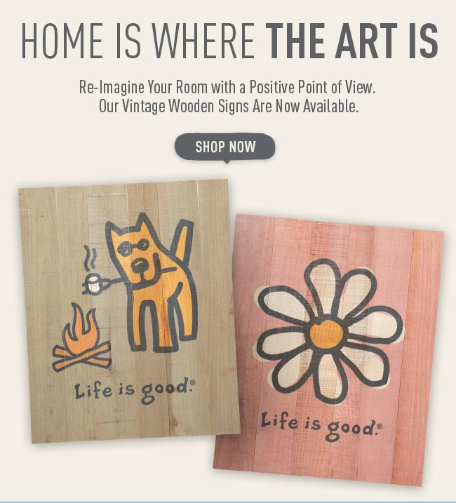 Shop the Life is good Wall Art
