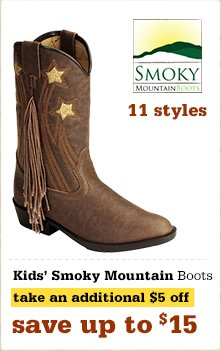 Smoky Mountain Kids Boots
