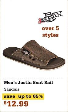 Justin Bent Rail Sandals