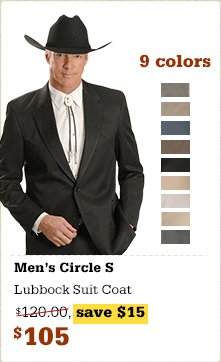 Circle S Men's Lubbock Suit Coat