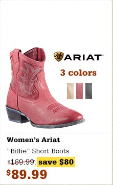 Ariat 'Billie' Short Boots