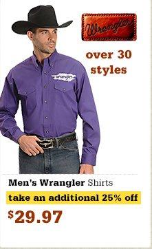 Wrangler Men's Shirts