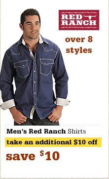 Red Ranch Men's Shirts