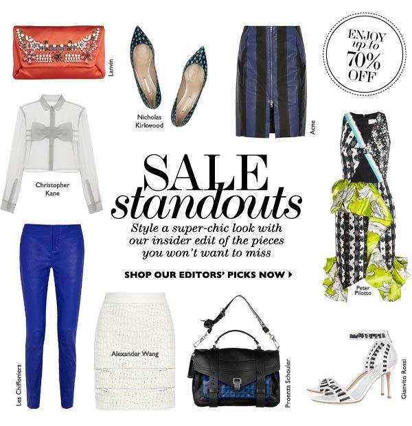 Sale Standouts SHOP NOW