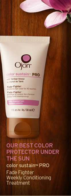 OUR BEST COLOR PROTECTOR UNDER THE SUN color sustain PRO Fade Fighter Weekly Conditioning Treatment