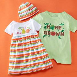 Fruits & Veggies: Infant Apparel