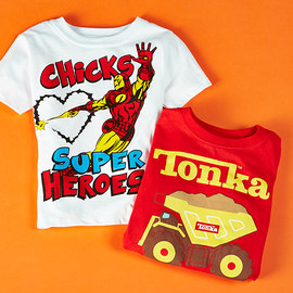 Get Into Character: Boys' Tees