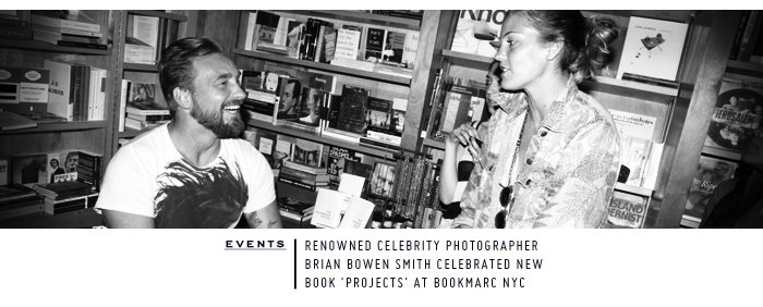 World of Marc Jacobs | Brian Bowen Smith 'Projects' Launch at Bookmarc NYC