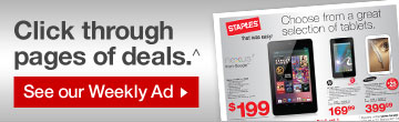 Click  through pages of deals. ^ See our Weekly Ad.