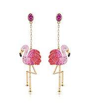 Toco Flamingo Pierced Earrings