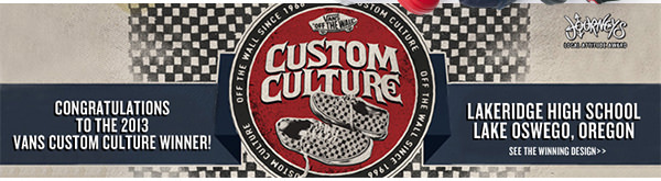 Check out the Vans Custom Culture Winners