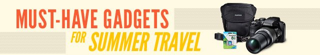 Must-Have Gadgets for Summer Travel