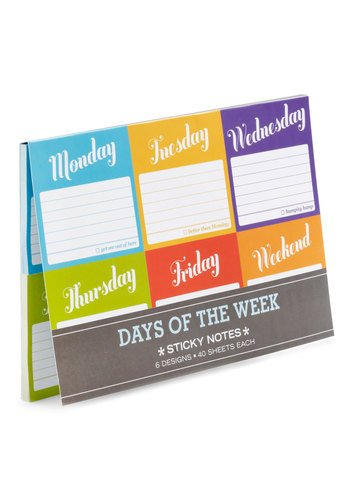Favor of the Week Sticky Notes